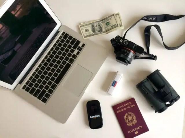 Gli strumenti essenziali del viaggiatore