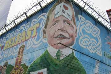 Belfast, Irlanda del Nord, UK