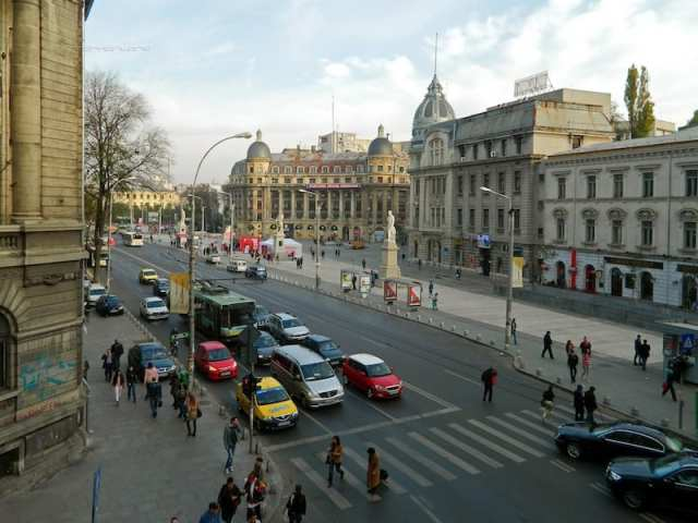 Piazza Università - Bucarest, Romania