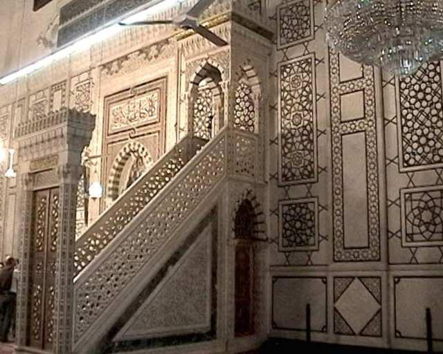 Moschea degli Omayyadi - Damasco, Siria