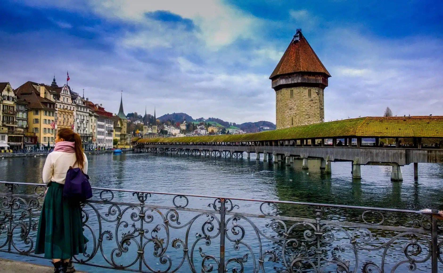architecture bridge buildings castle