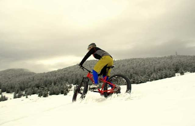 Fat Bike a Folgaria