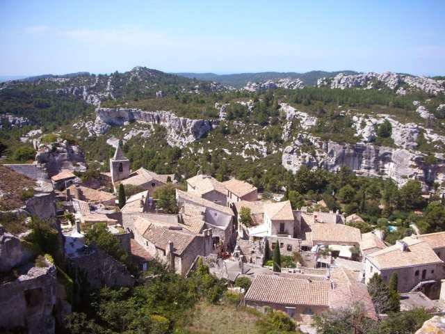 Les Baux de Provence, Provenza, Francia