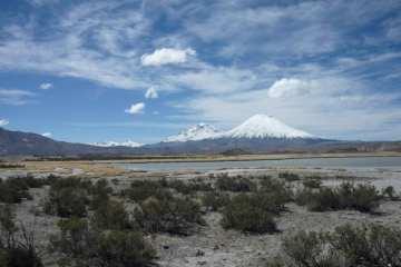 Vulcano Parinacota, Cile