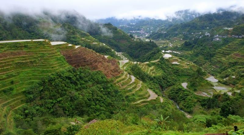 Terrazze di riso di Banaue