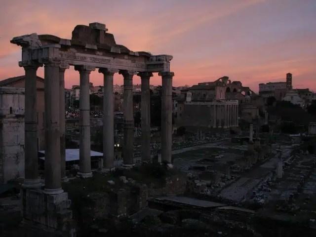 Fori Imperiali sera_Roma_Mauro