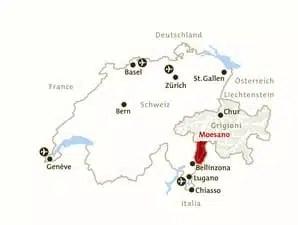 Moesano-piantina della Svizzera