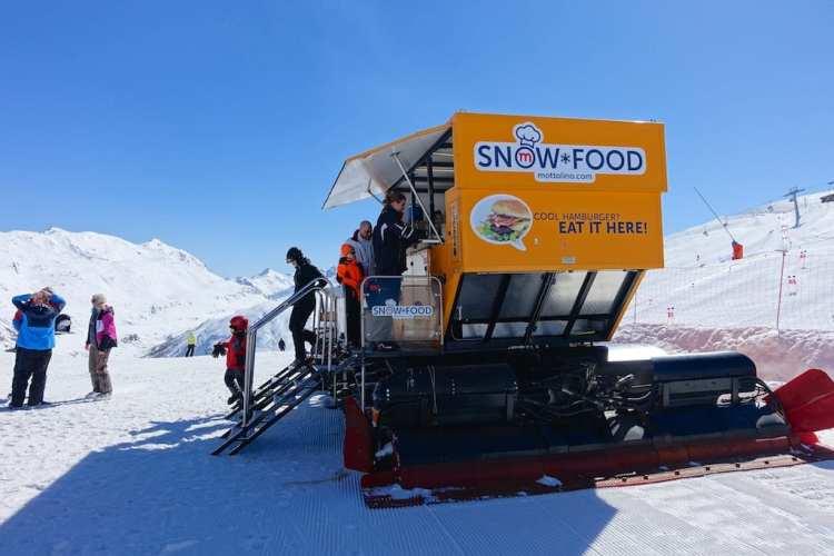 SnowFood sulle piste a Livigno