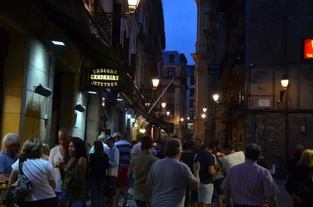 Pintxos Bar a San Sebastián