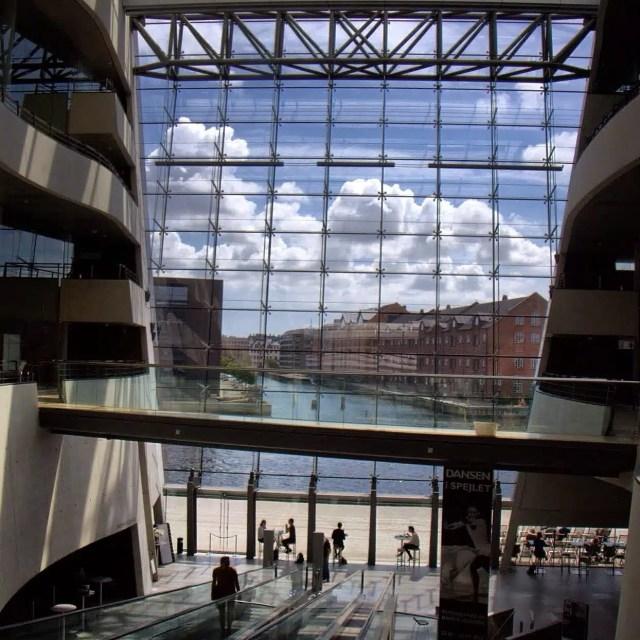 Biblioteca Reale - Copenaghen, Danimarca