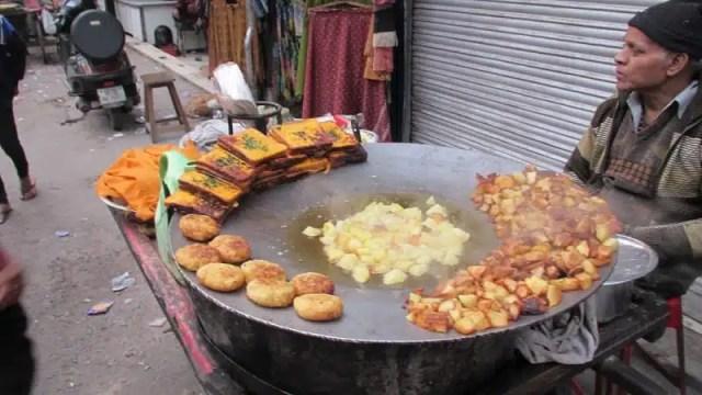 Aloo tikki - Nuova Delhi, India