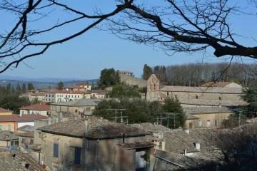 Sopra i tetti di Volterra