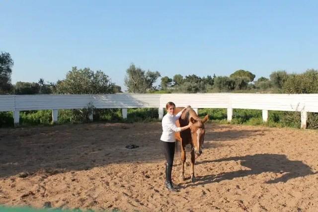 Milena Mero - Equitazione in Puglia
