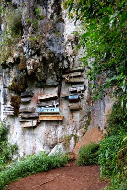 bare sospese - Sagada, Filippine