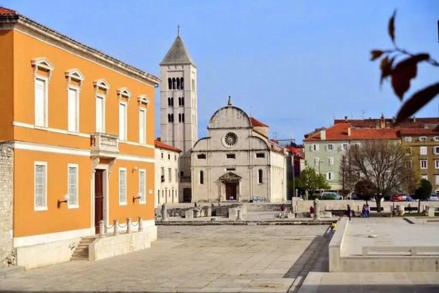 Il centro di Zara, Croazia