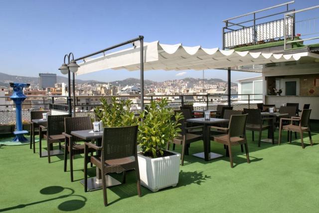 L'impagabile terrazza dell'Hotel Regente