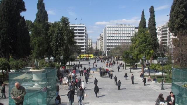 Piazza Syntagma - Atene, Grecia