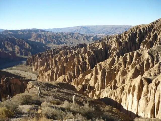 Panorama dall'alto - Tupiza, Bolivia
