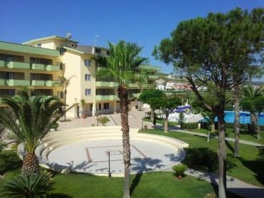 Hotel Village Paradise Mandatoriccio MAre - Giardino
