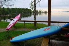 SUP - Lago Saimaa, Finlandia
