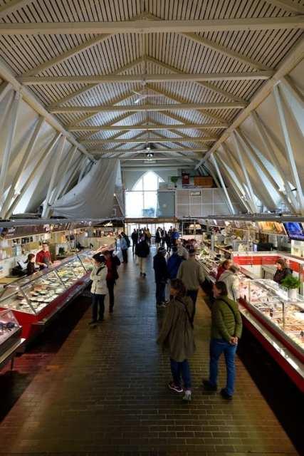 Mercato del pesce - Göteborg, Svezia