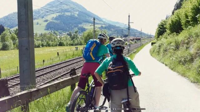 E-bike - Tirolo, Austria
