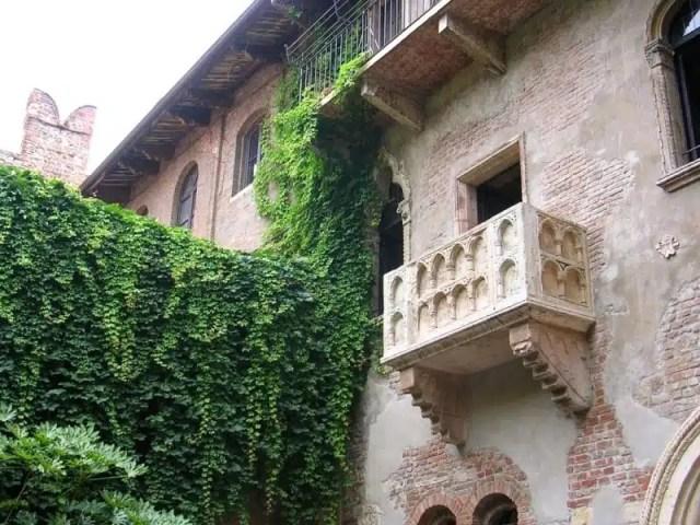 Balcone di Giulietta - Verona, Italia