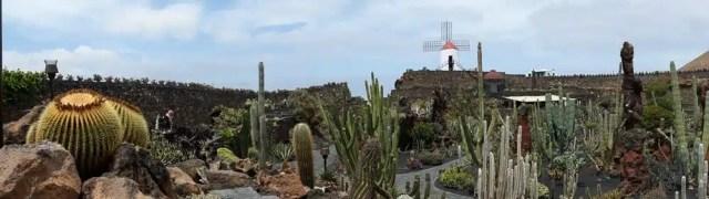 Jardín de Cactus, César Manrique - Lanzarote, Canarie