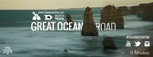 Italian Dreamtime - Ocean Great Road, Australia