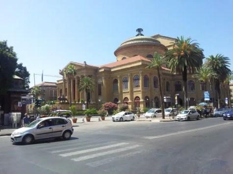 Teatro Massimo - Palermo, Sicilia