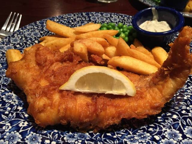Fish and chips - Londra, UK