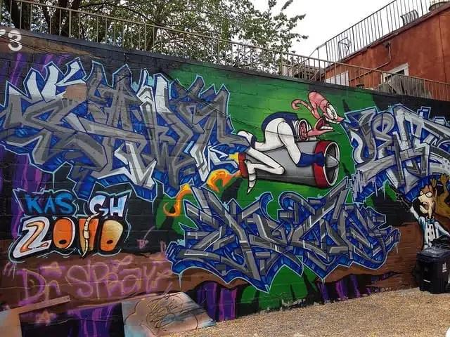 Graffiti Alley - Toronto, Canada
