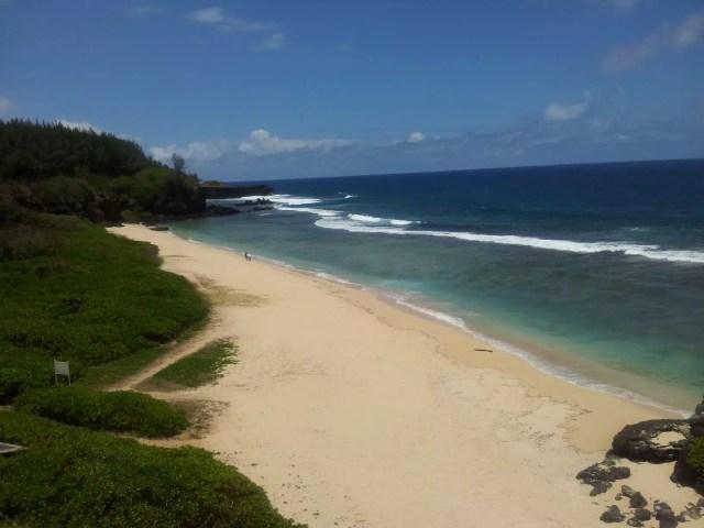 La spiaggia di Gris Gris - Maurizio