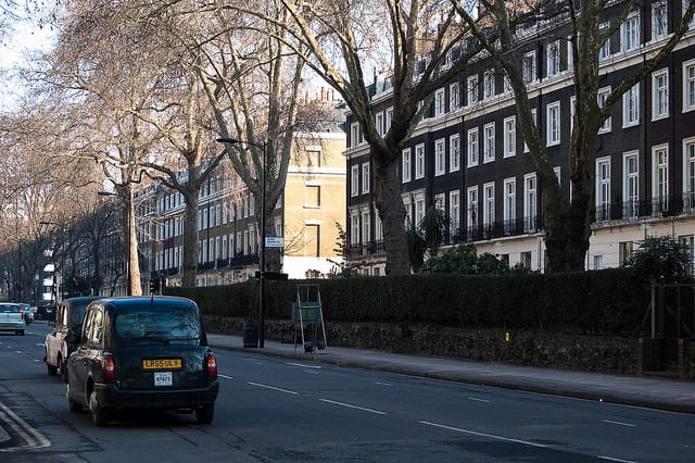 Sussex Gardens Road - Londra - cucina inglese
