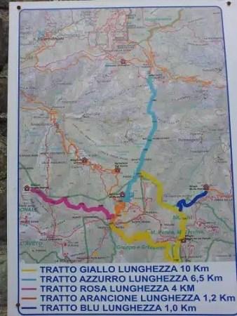 Percorsi Monte Penna - Parco dell'Aveto, Liguria