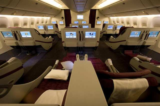Boeing 777 Business Class_Qatar Airways