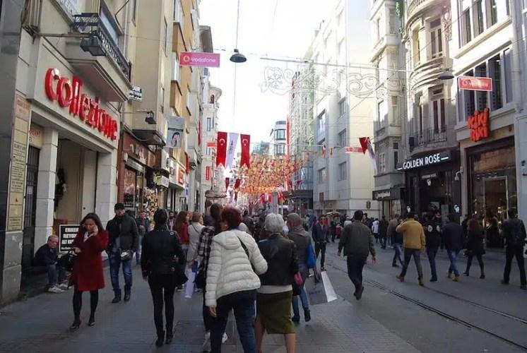 Istiklal Cd - Istanbul, Turchia