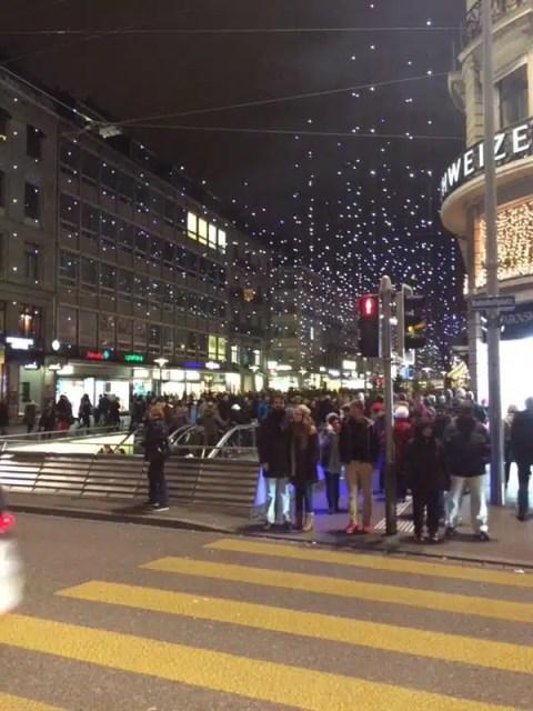 Zurigo a  Natale - Svizzera