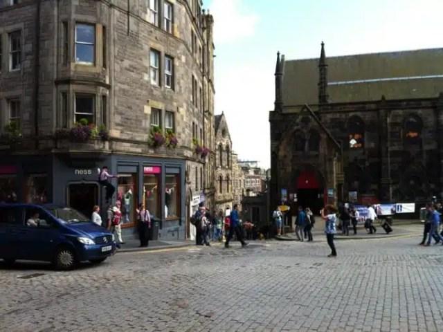 Royal Mile - Edimburgo, Scozia