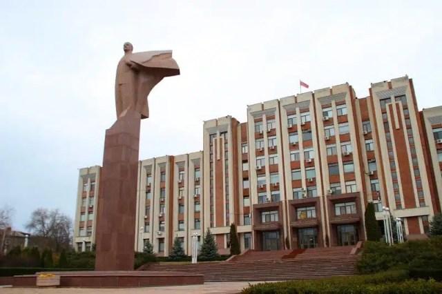 Parlamento - Tiraspol, Transnistria