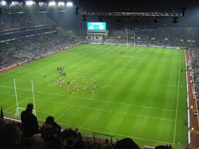 Il Gaelic nello stadio di Dublino, Irlanda