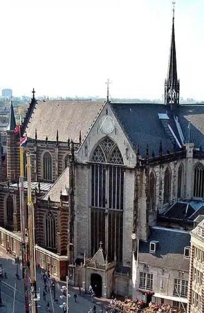 Nieuwe Kirk / Chiesa Nuova - Amsterdam, Olanda