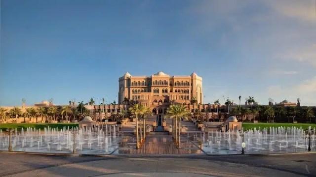 Emirates Palce - Abu Dhabi, EAU