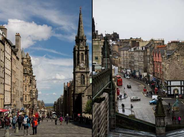 Il Royal Mile - Edimburgo, Scozia