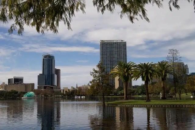 Lago Eola - Orlando, Florida, USA
