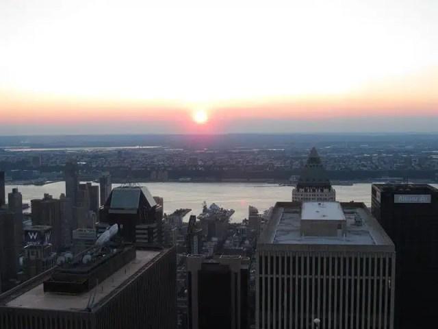 Vista dall'Empire State Building - New York City, USA