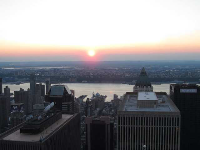 Vista dall'Empire State Building - New York City, USA