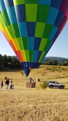 volo in mongolfiera nella sila
