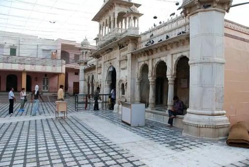 Il tempio dei topi di Deshnoke nel Rajastan