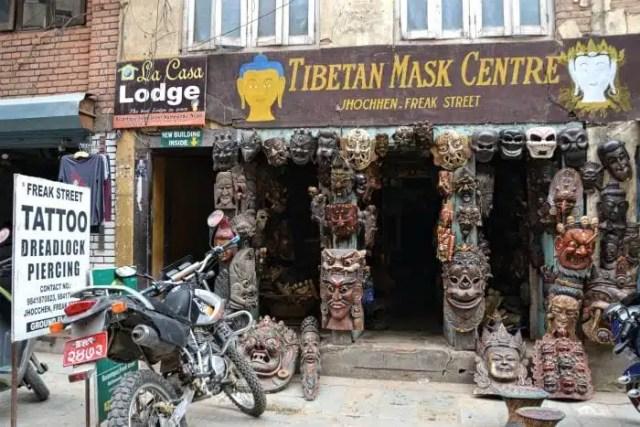 Freak Street, Kathmadu, Nepal